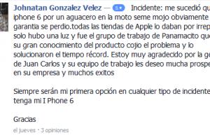 comentario-especial-servicio-tecnico-iphone-medellin